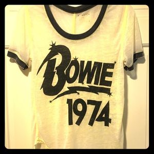 👨🏻‍🎤 Bowie 1974 distressed t-shirt